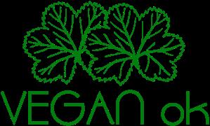 Vegan Ok GREEN no sfondo